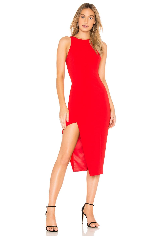 Jay Godfrey Pine Dress in Red