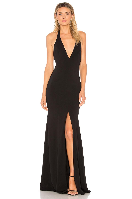 Jay Godfrey Lena Gown in Black