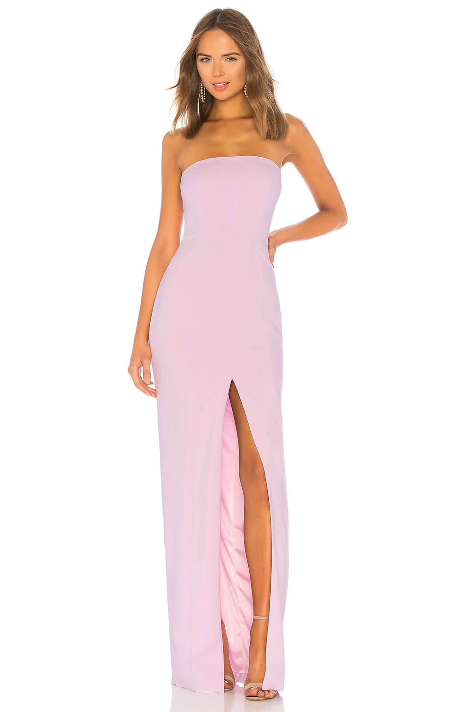 Jay Godfrey Martell Gown in Lilac