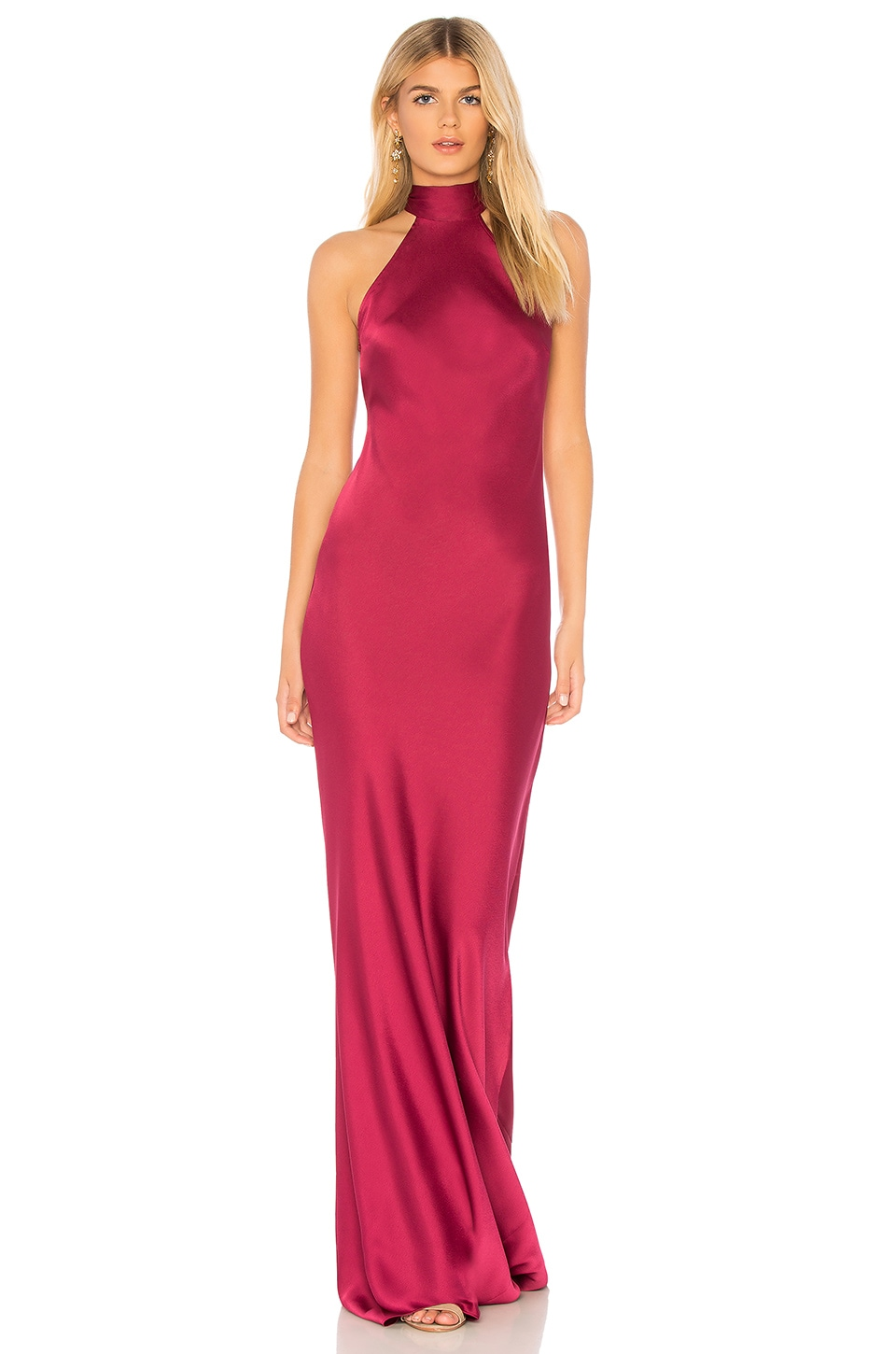 Jay Godfrey Brisco Gown in Boysenberry