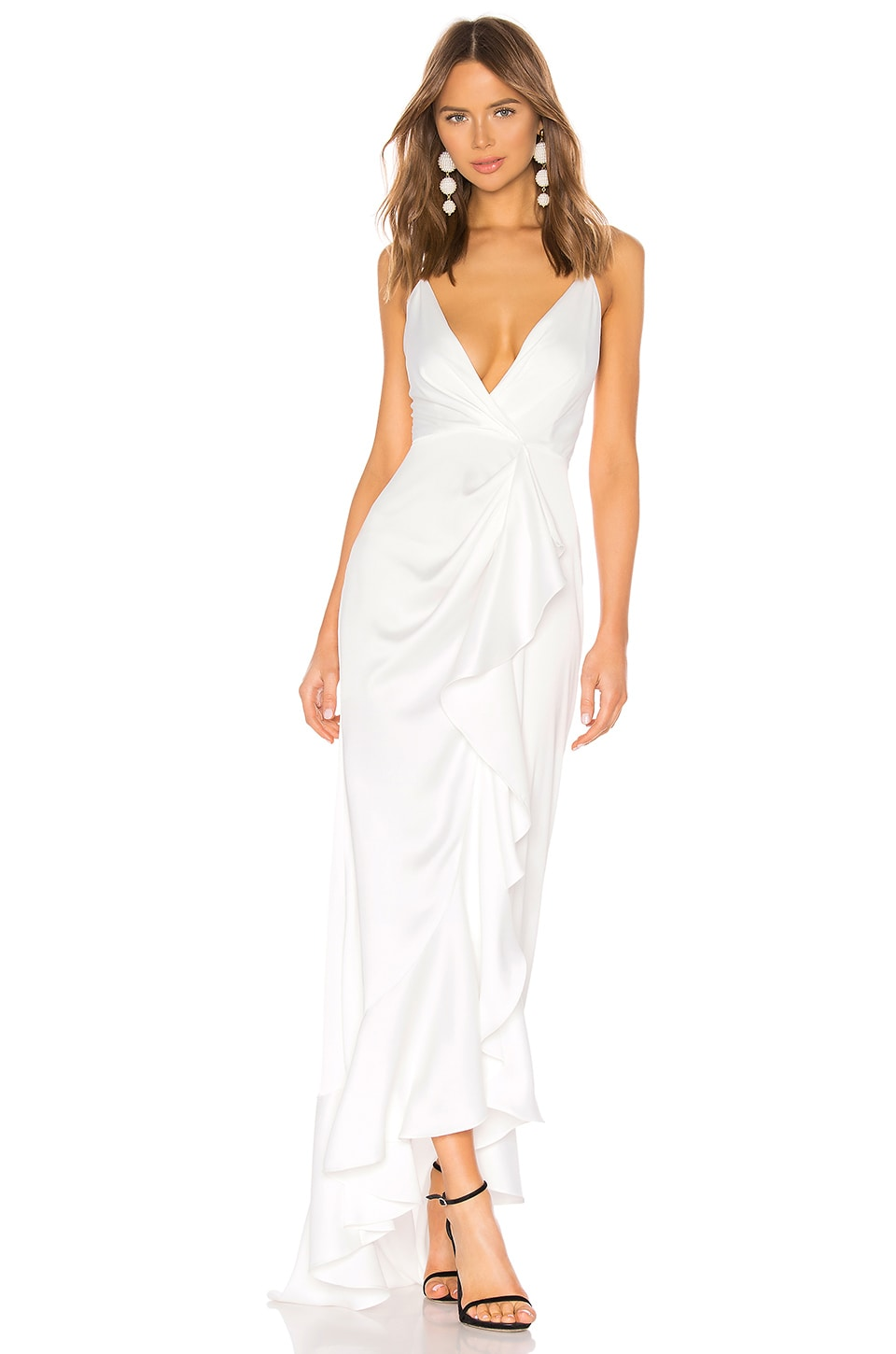 Jay Godfrey Elsie Gown in Diamond White
