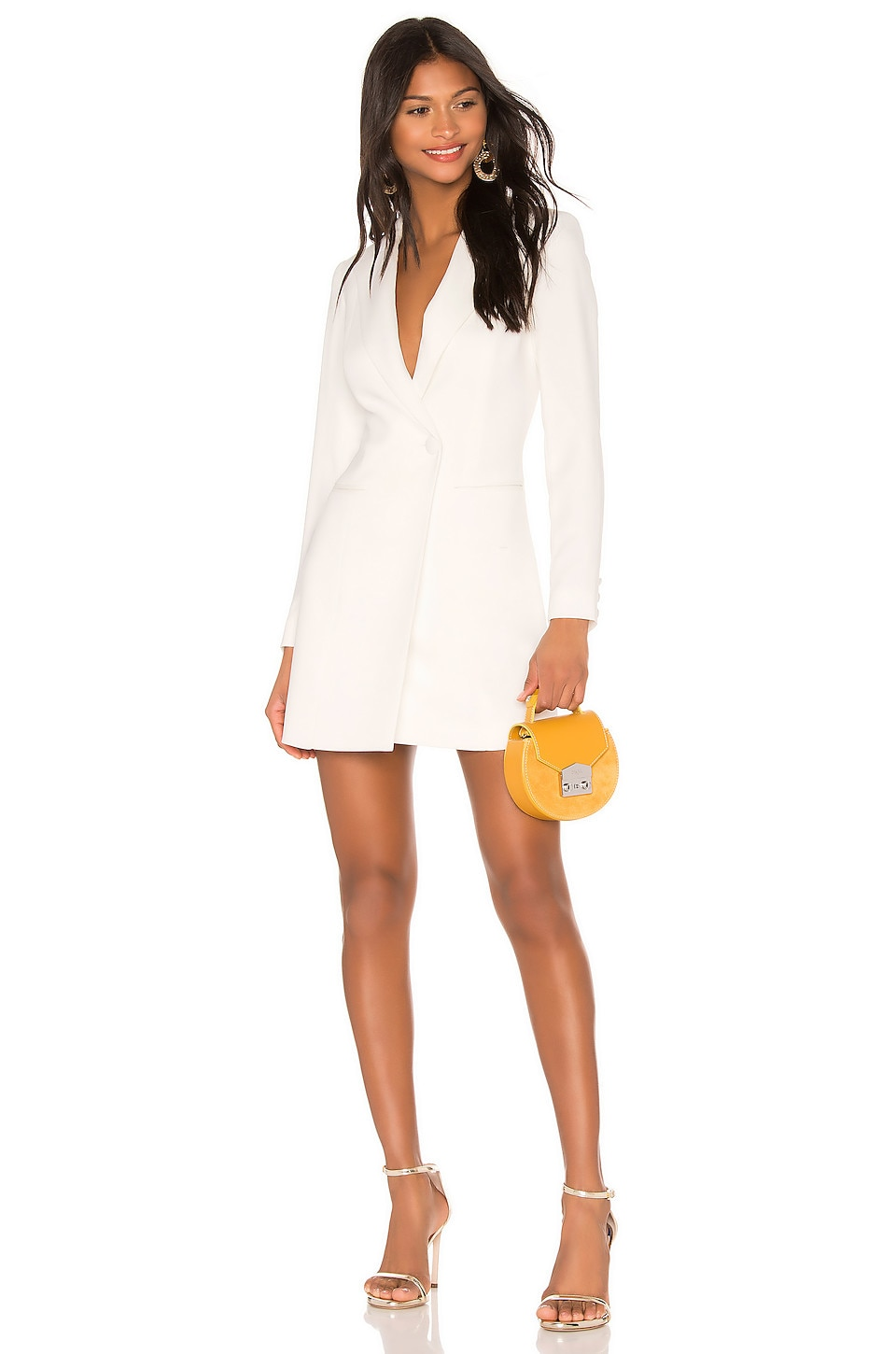 Jay Godfrey Ace Dress in Light Ivory