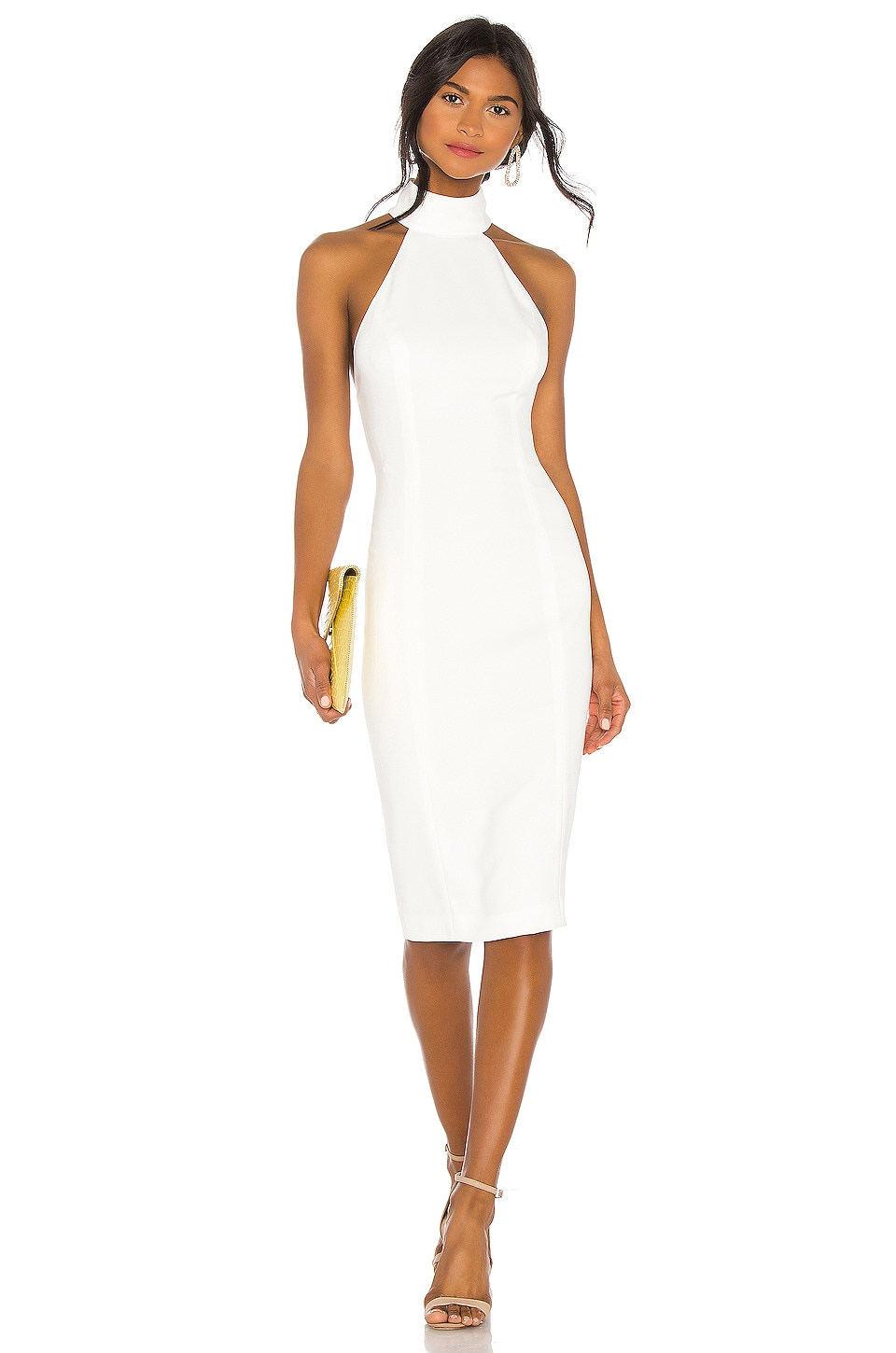 Jay Godfrey Soori Dress in Light Ivory