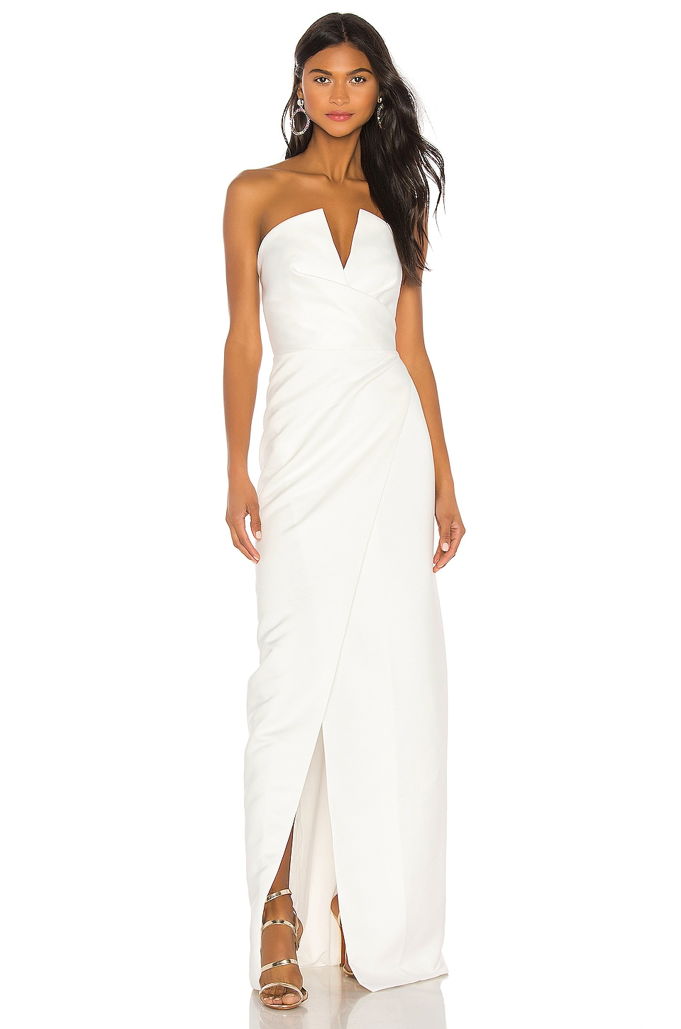Jay Godfrey Darcy Gown in Ivory