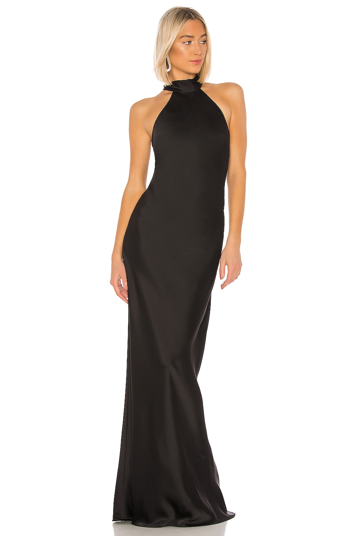 Jay Godfrey Brisco Gown in Black