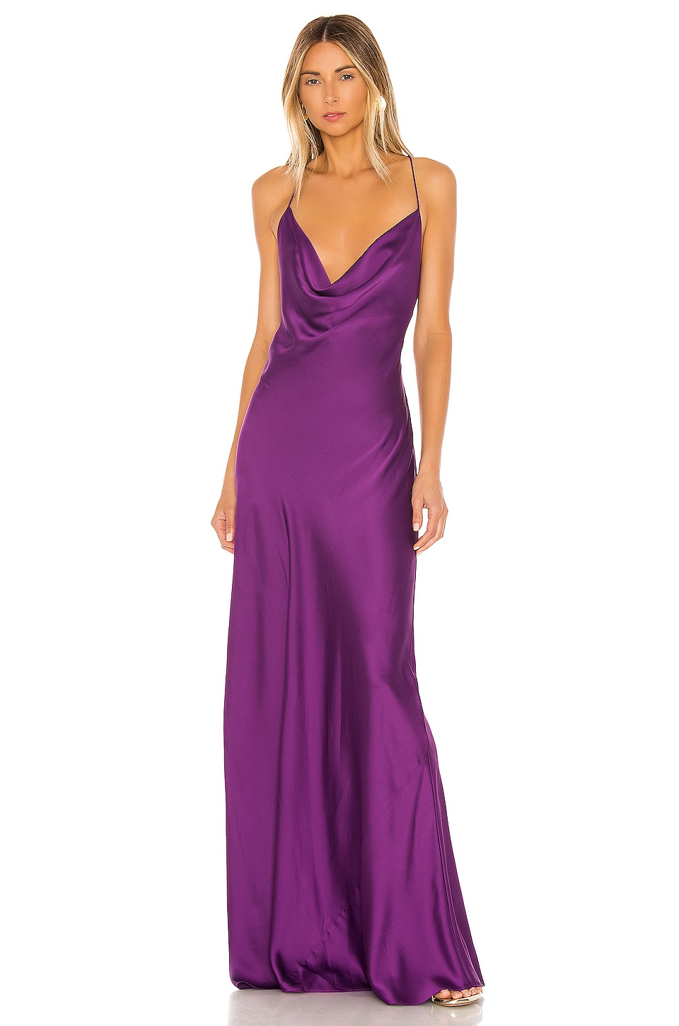 Jay Godfrey Sands Gown in Grape