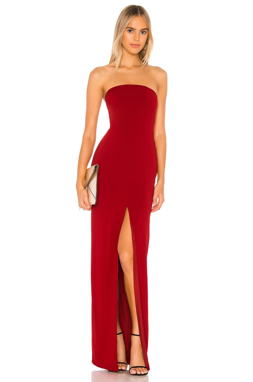 Jay Godfrey x REVOLVE Martell Gown in Venetian Red