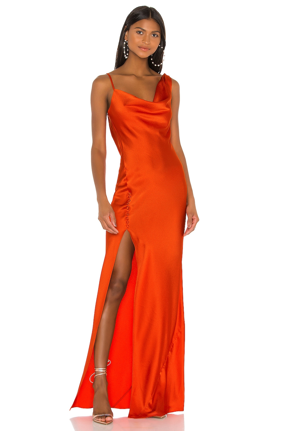 Jay Godfrey Justine Dress in Sunkist