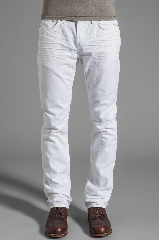 J Brand Kane in Indestructible White