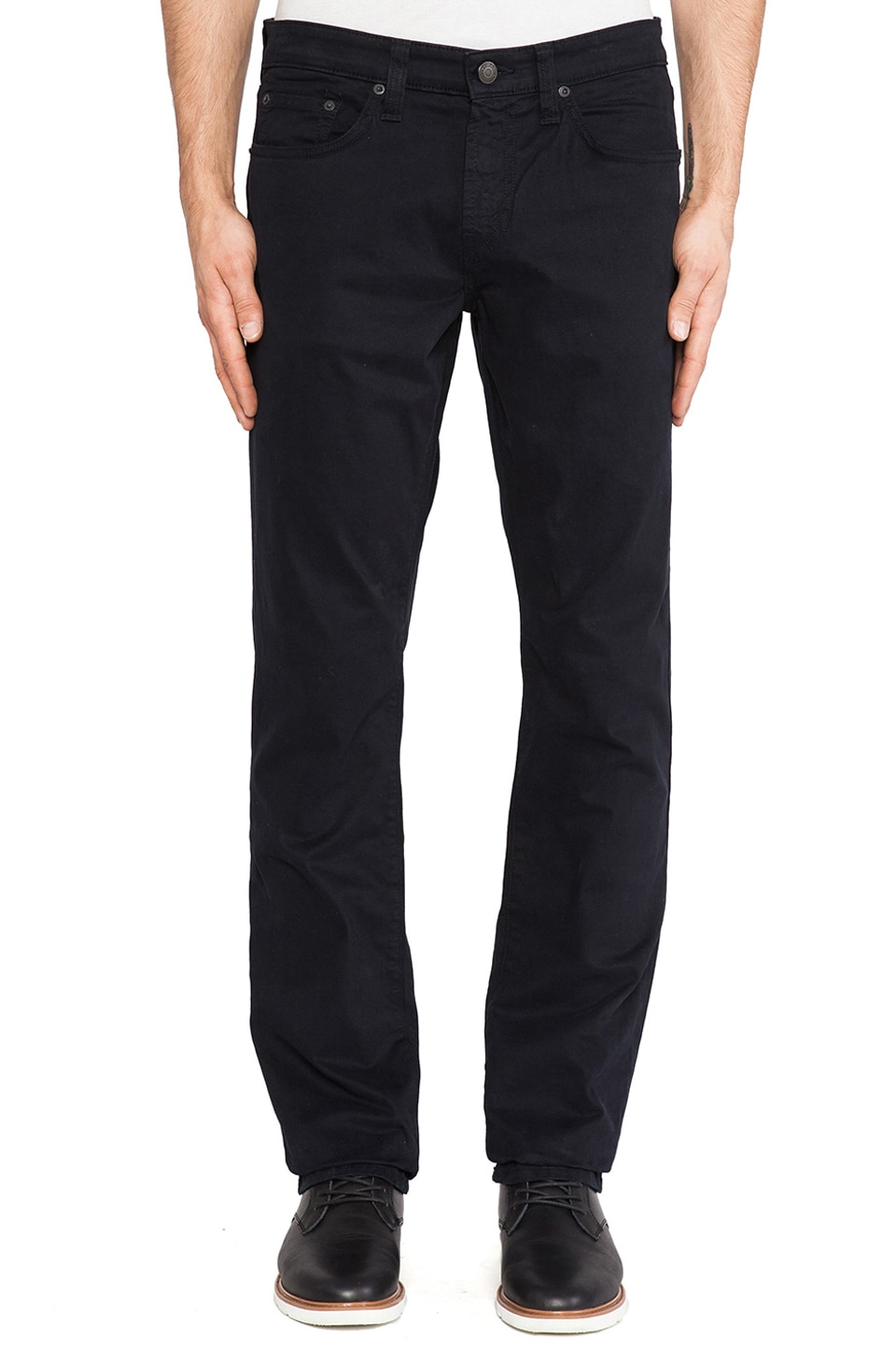 J Brand Kane Twill in Carbon Blue