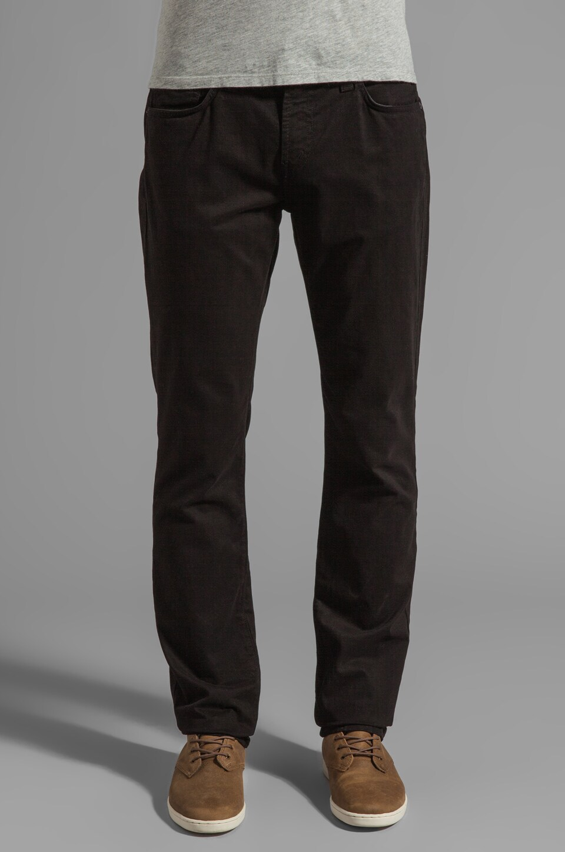 J Brand Kane Twill Pant in Black