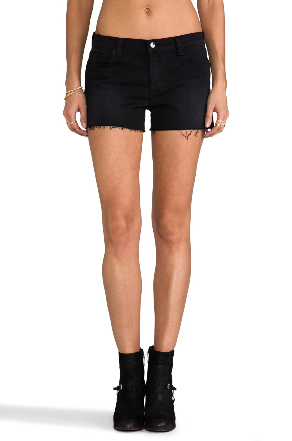 J Brand Low Rise Cutoff Short in Allie Cat