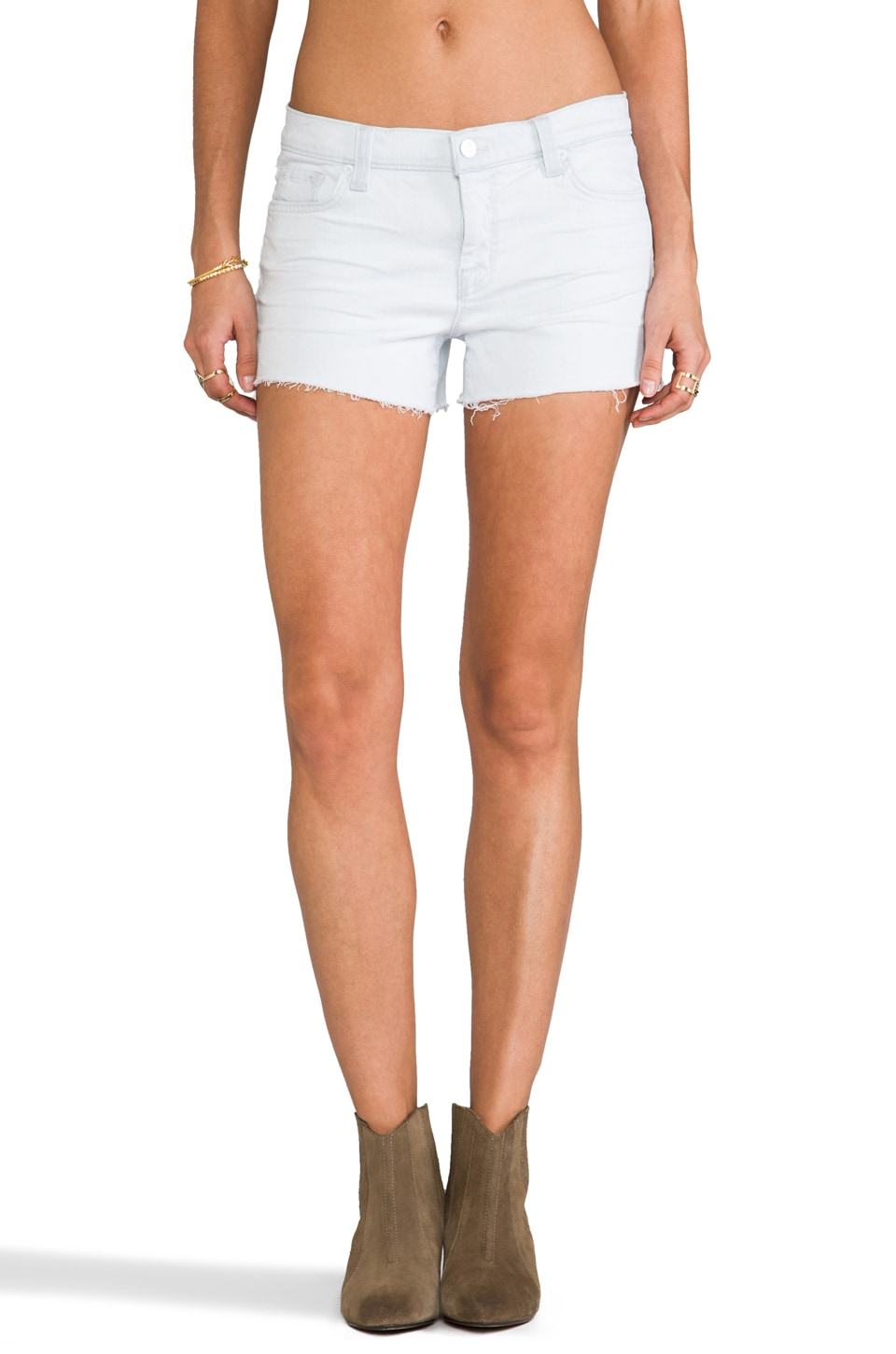 J Brand Low Rise Cutoff Short in Sky Way