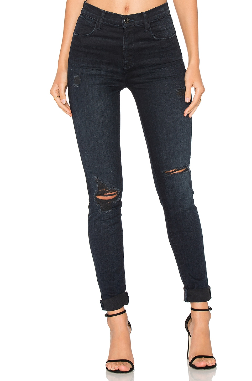 Maria High Rise Skinny by J Brand
