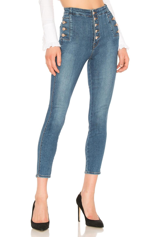 J Brand Natasha Sky High Skinny Cropped Jean in Lovesick