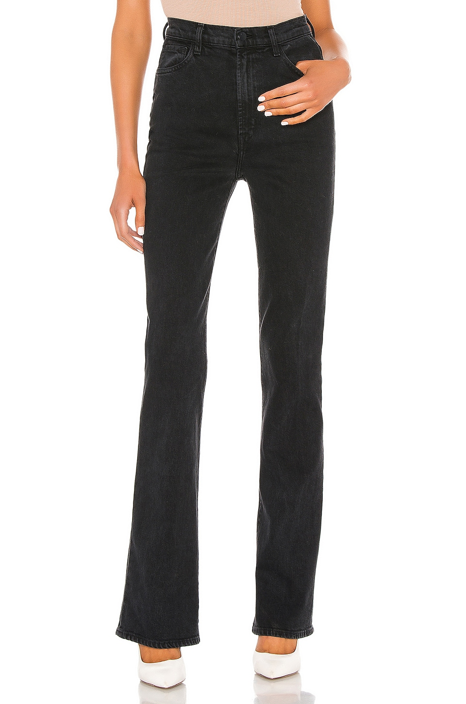 J Brand 1219 Runway High Rise Bootcut in Undercover