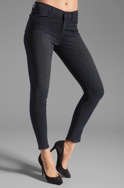 J Brand Mid Rise Skinny in Impression