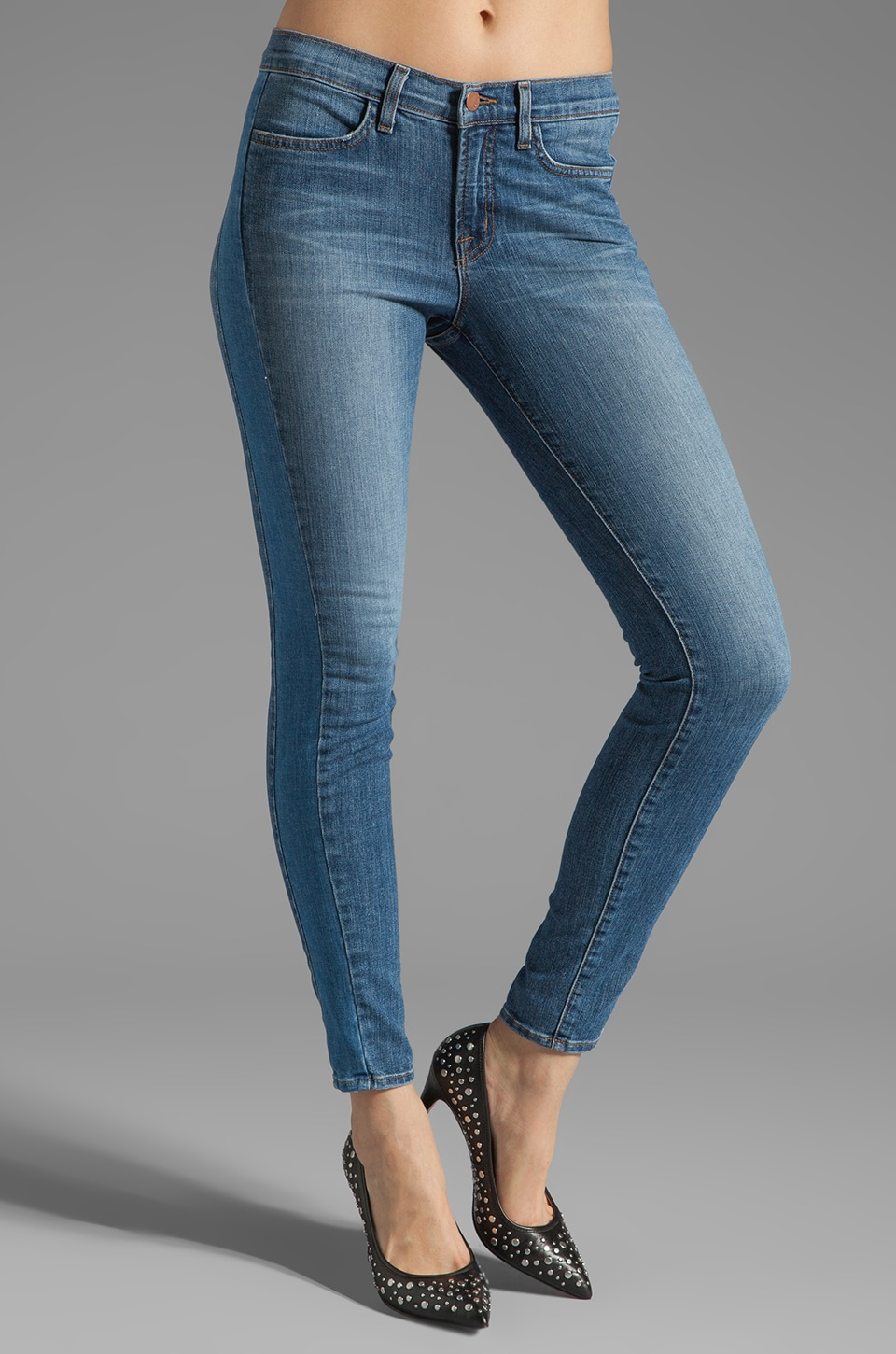 J Brand The Cass Mid Rise Skinny in Bliss