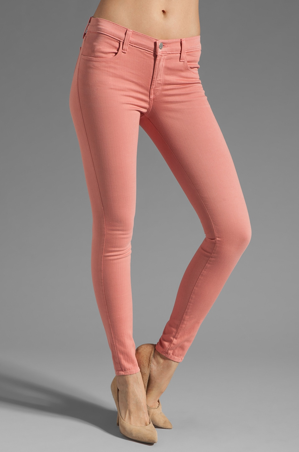 J Brand Super Skinny in Washed Coho