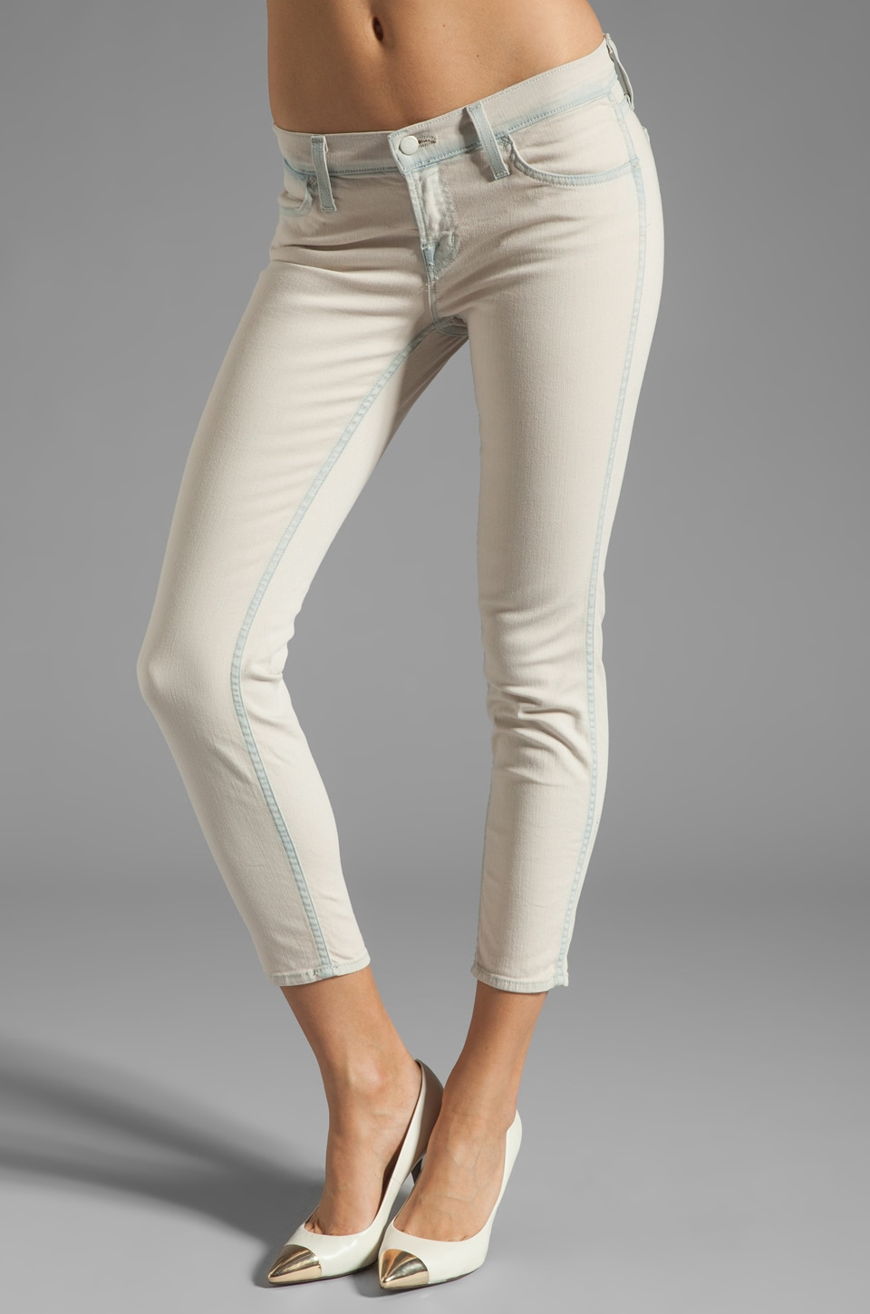 J Brand Low Rise Skinny in Nirvana Sherbert