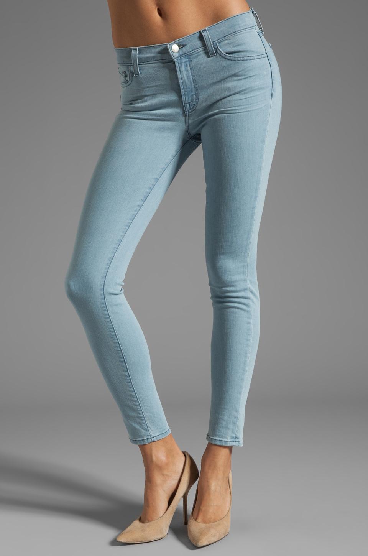 J Brand Mid Rise Skinny in Beautiful Blue
