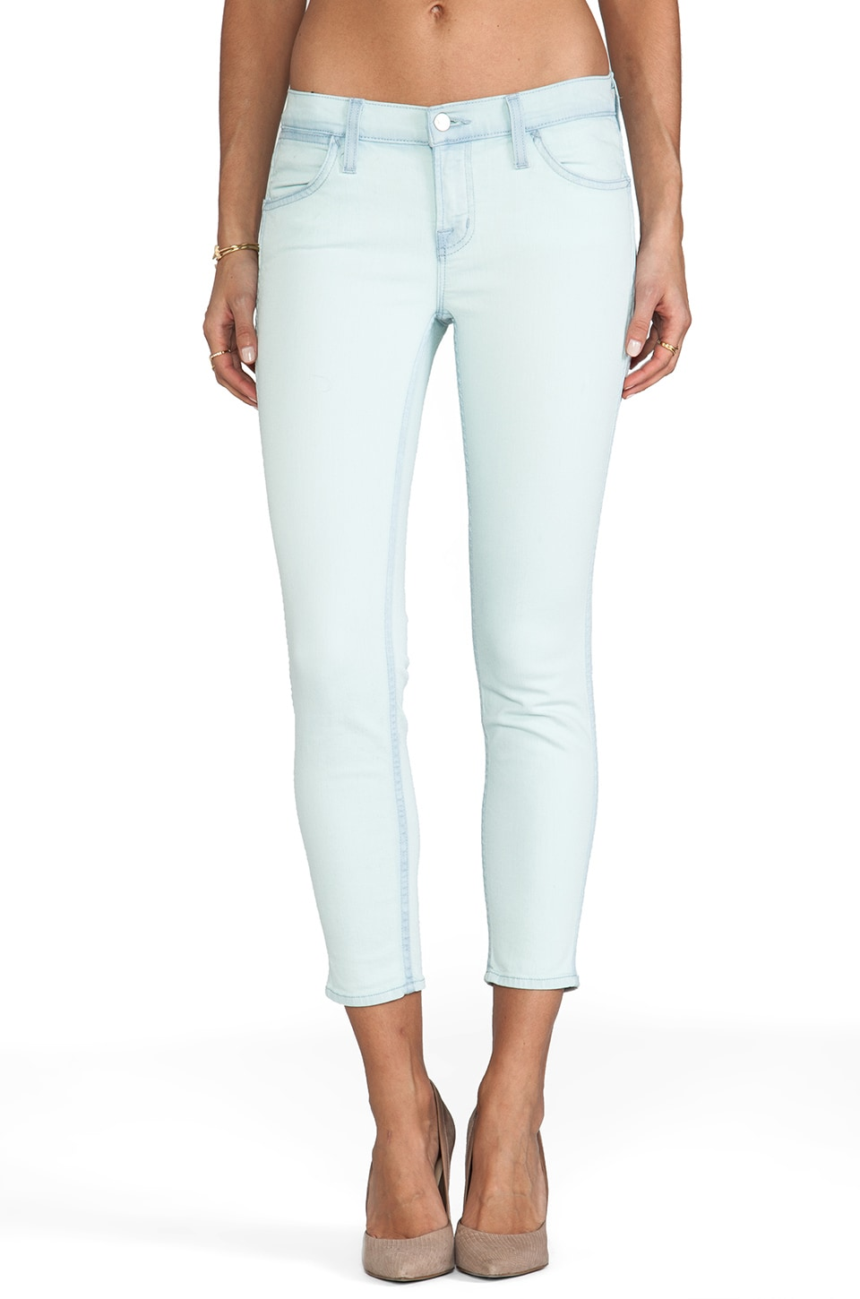 J Brand Low Rise Skinny in Nirvana Sky