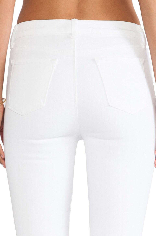 J Brand Maria High Rise in Blanc