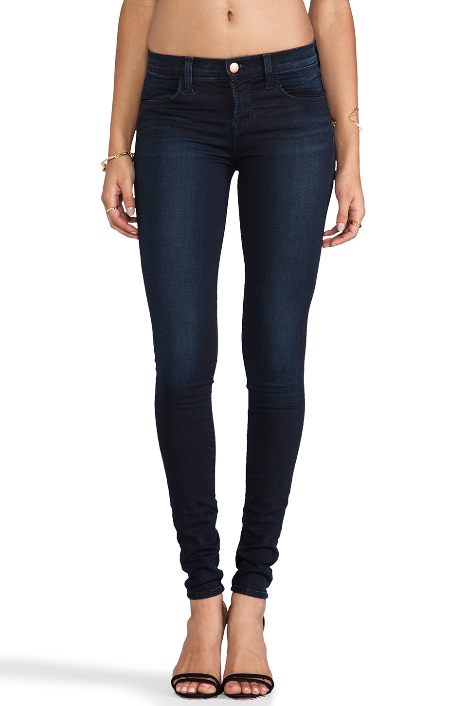 J Brand Mid Rise Skinny in Atmosphere