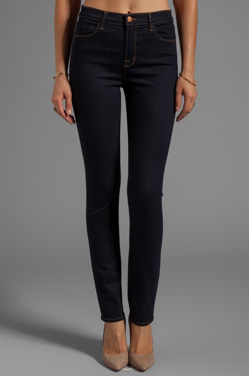J Brand Maria Rails Skinny in Starless
