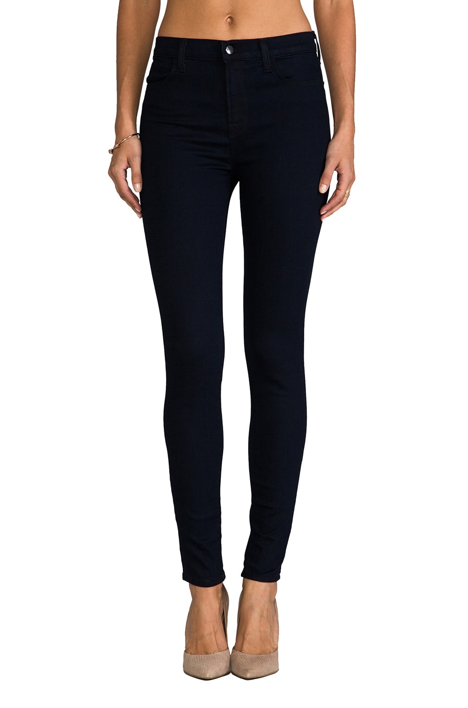 J Brand Maria Highrise Skinny in Lapis