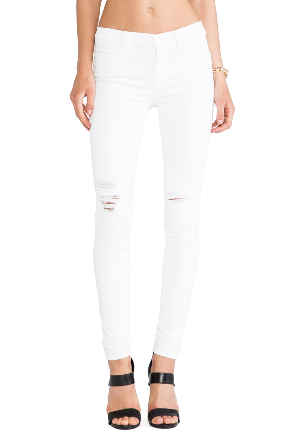 J Brand Skinny in White Rocks