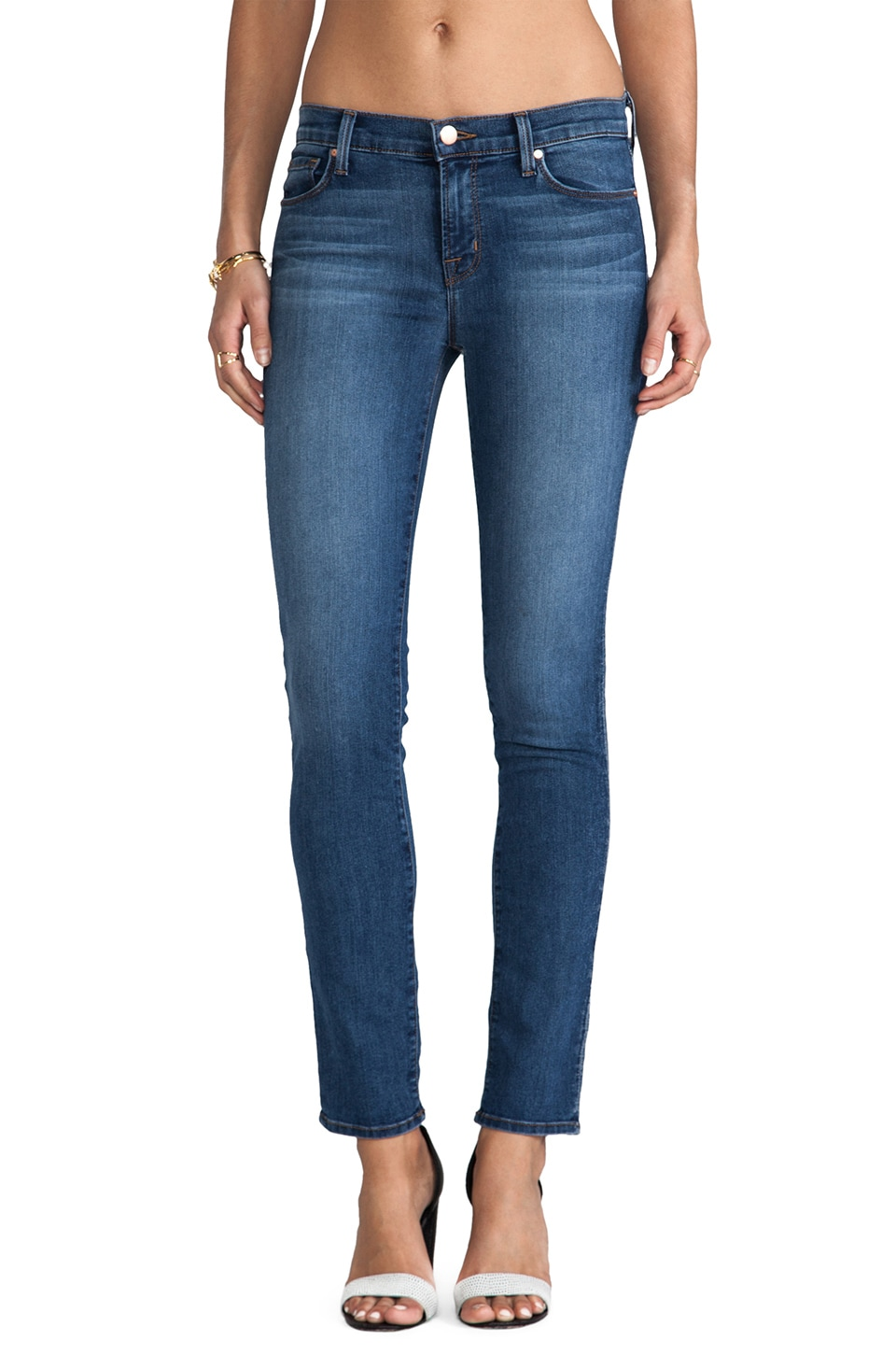 J Brand Mid Rise Skinny in New Dawn