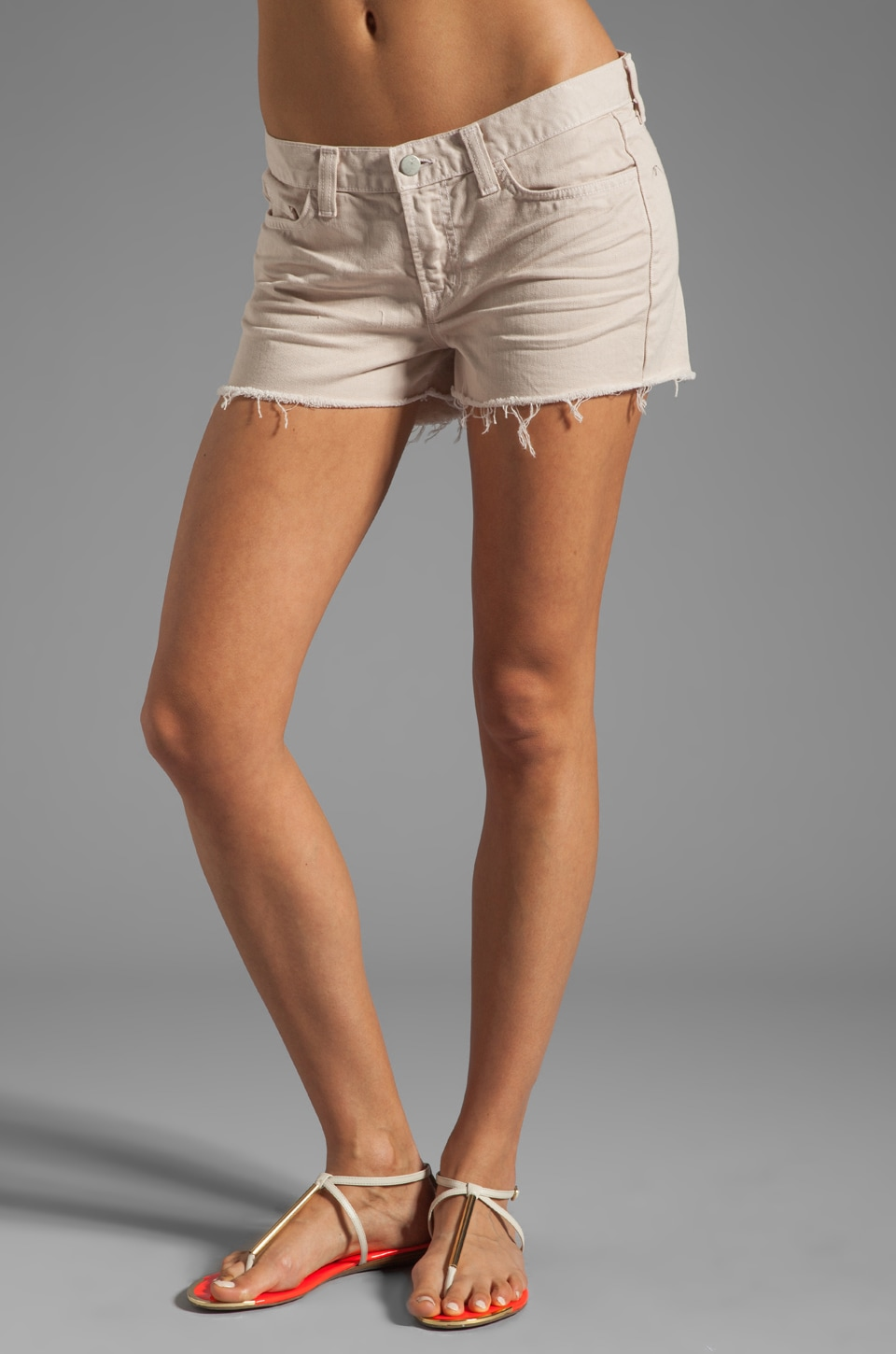 J Brand Cutoff Short in Light Magnolia