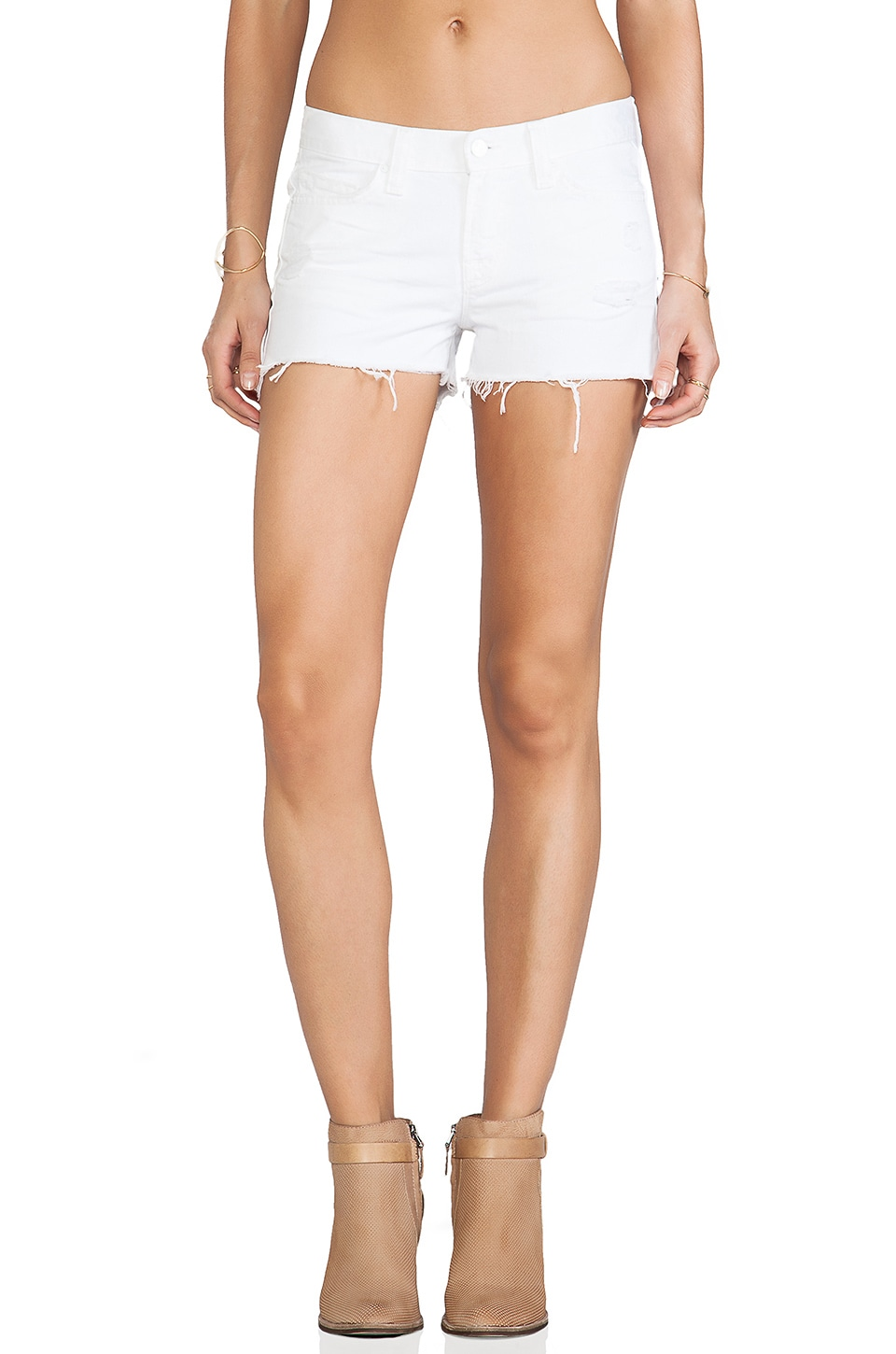 J Brand Cutoff in White Vixen