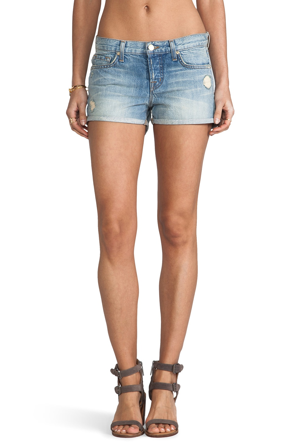 J Brand Patty Short in Magnetic