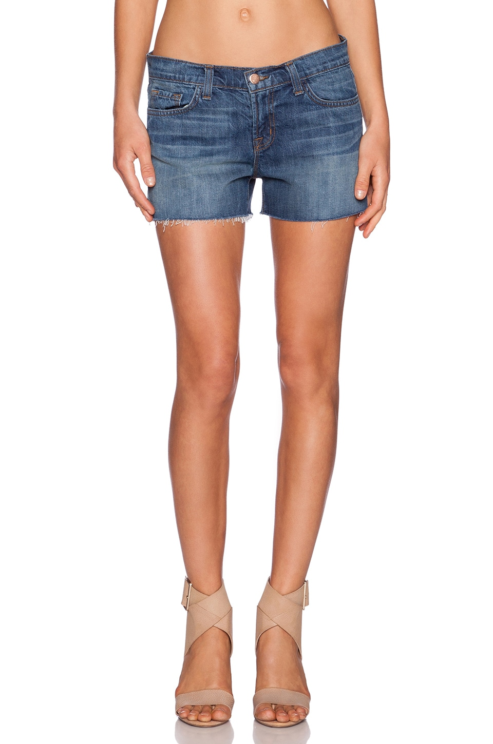 J Brand Cut Off Short in Clear View