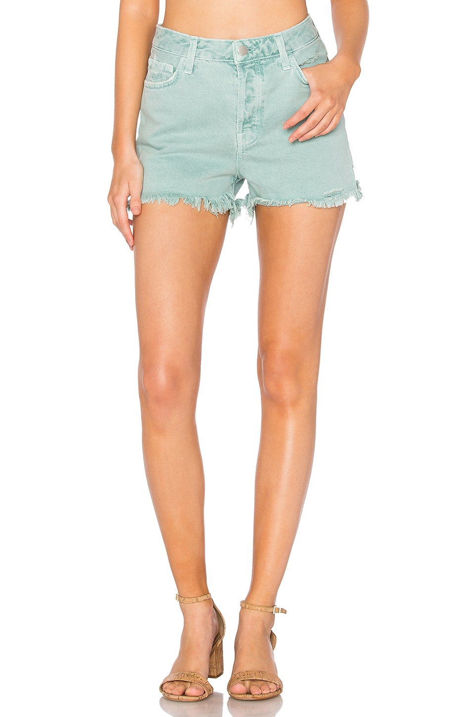 Gracie High Rise Short by J Brand