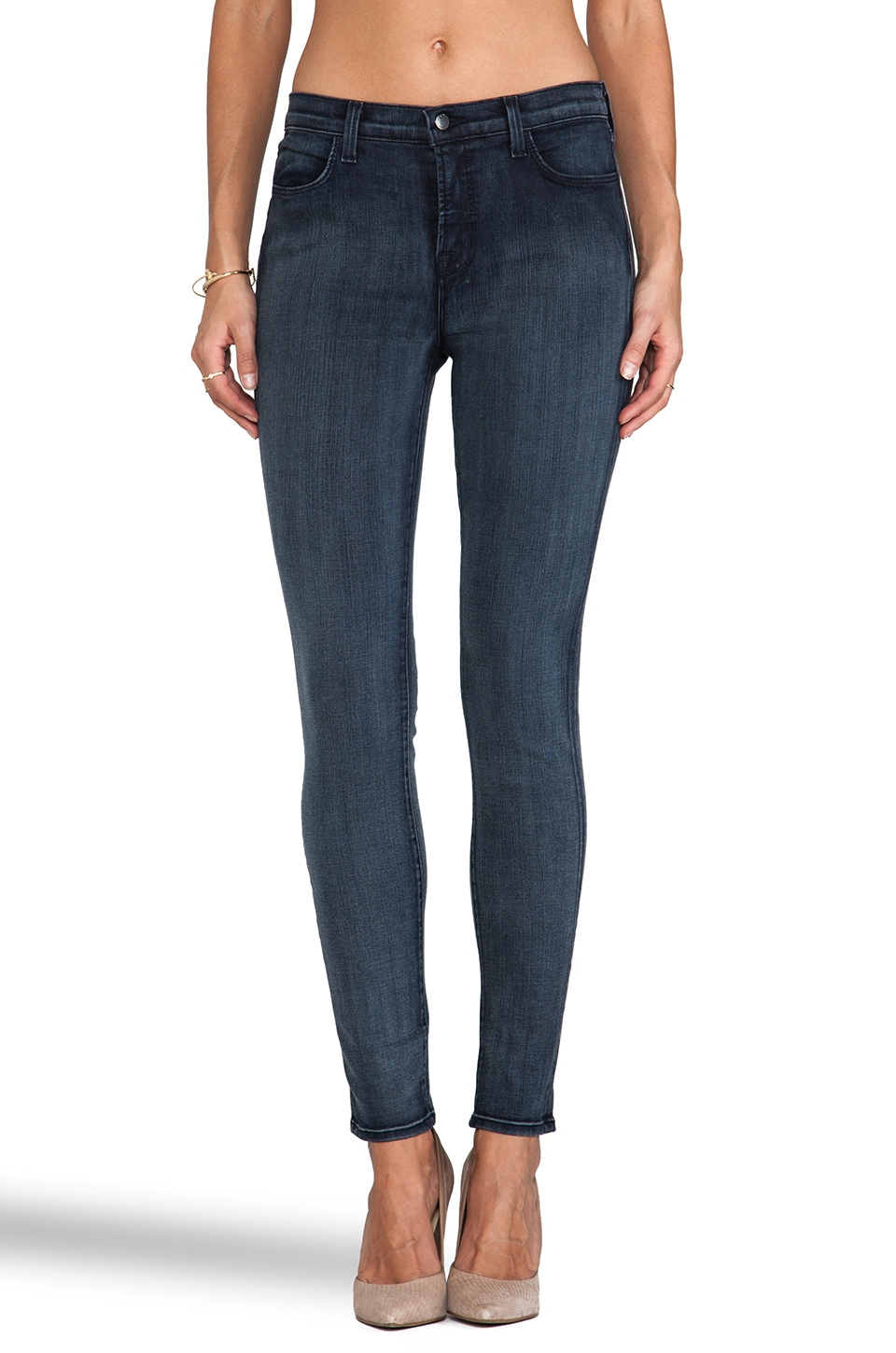 J Brand Maria Photo Ready Skinny in Mystic Blue