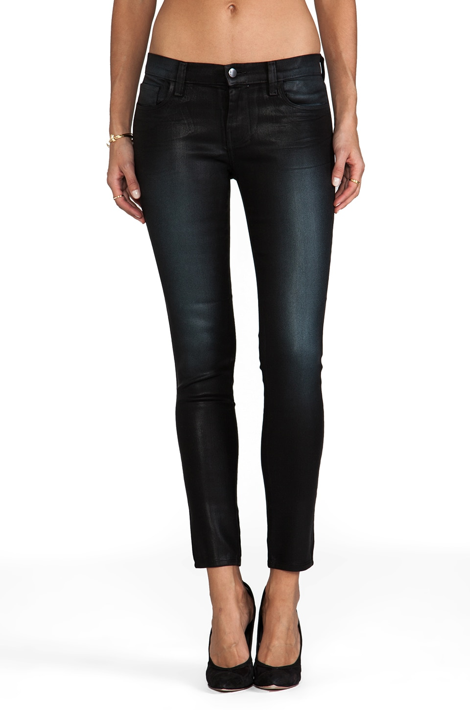 J Brand Lowrise Skinny in Diffused Sapphire