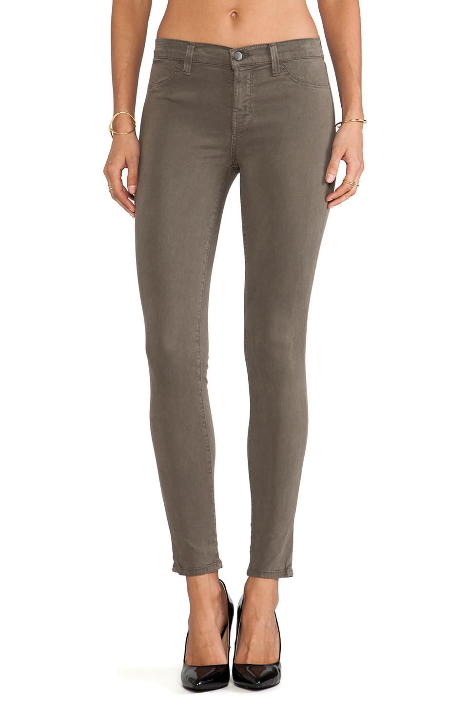 J Brand Mid Rise Skinny in Cypress