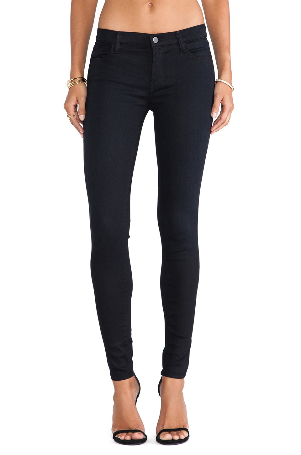 J Brand Stocking Skinny Pant in Veil