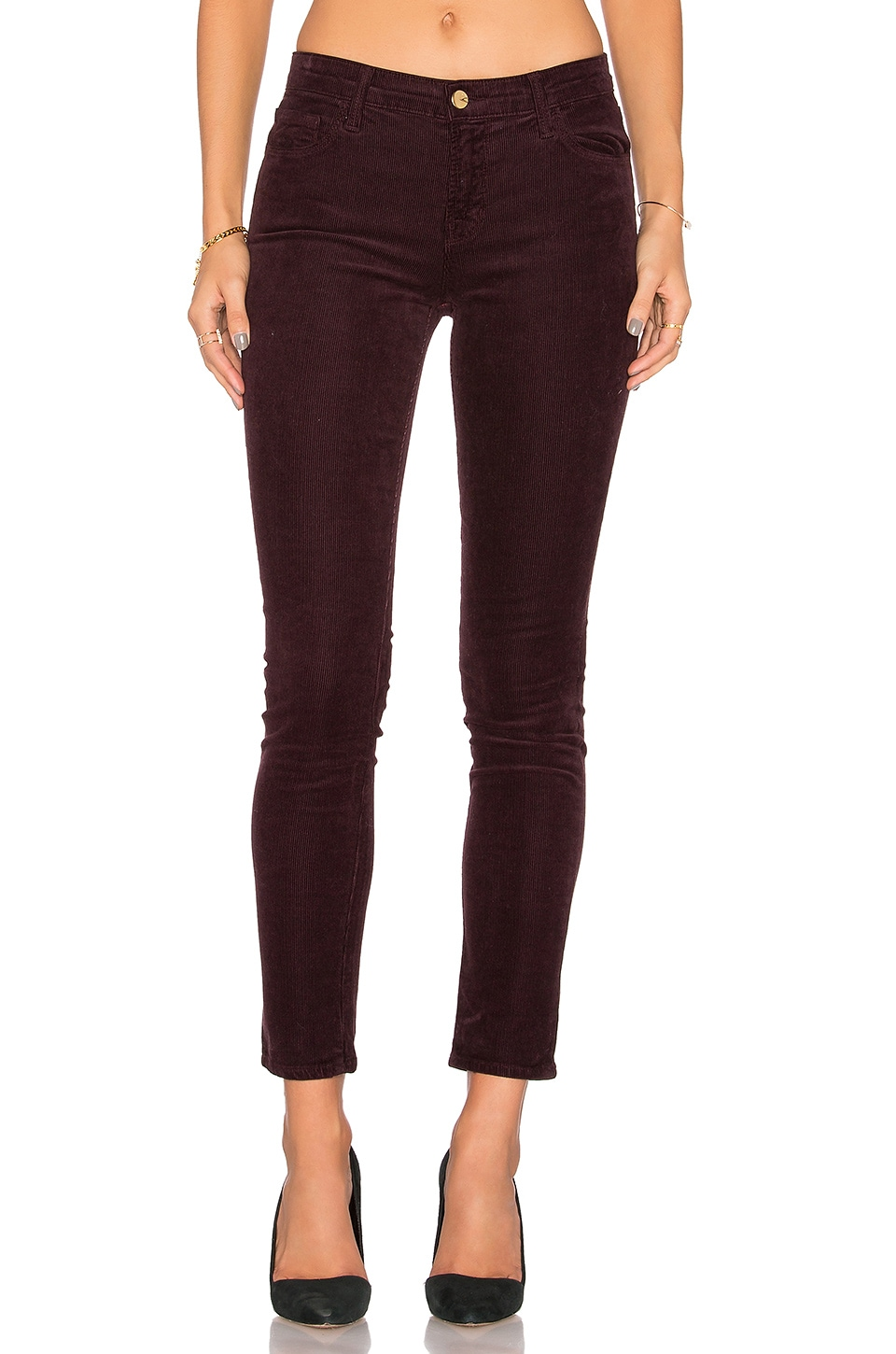 Mid Rise Skinny by J Brand