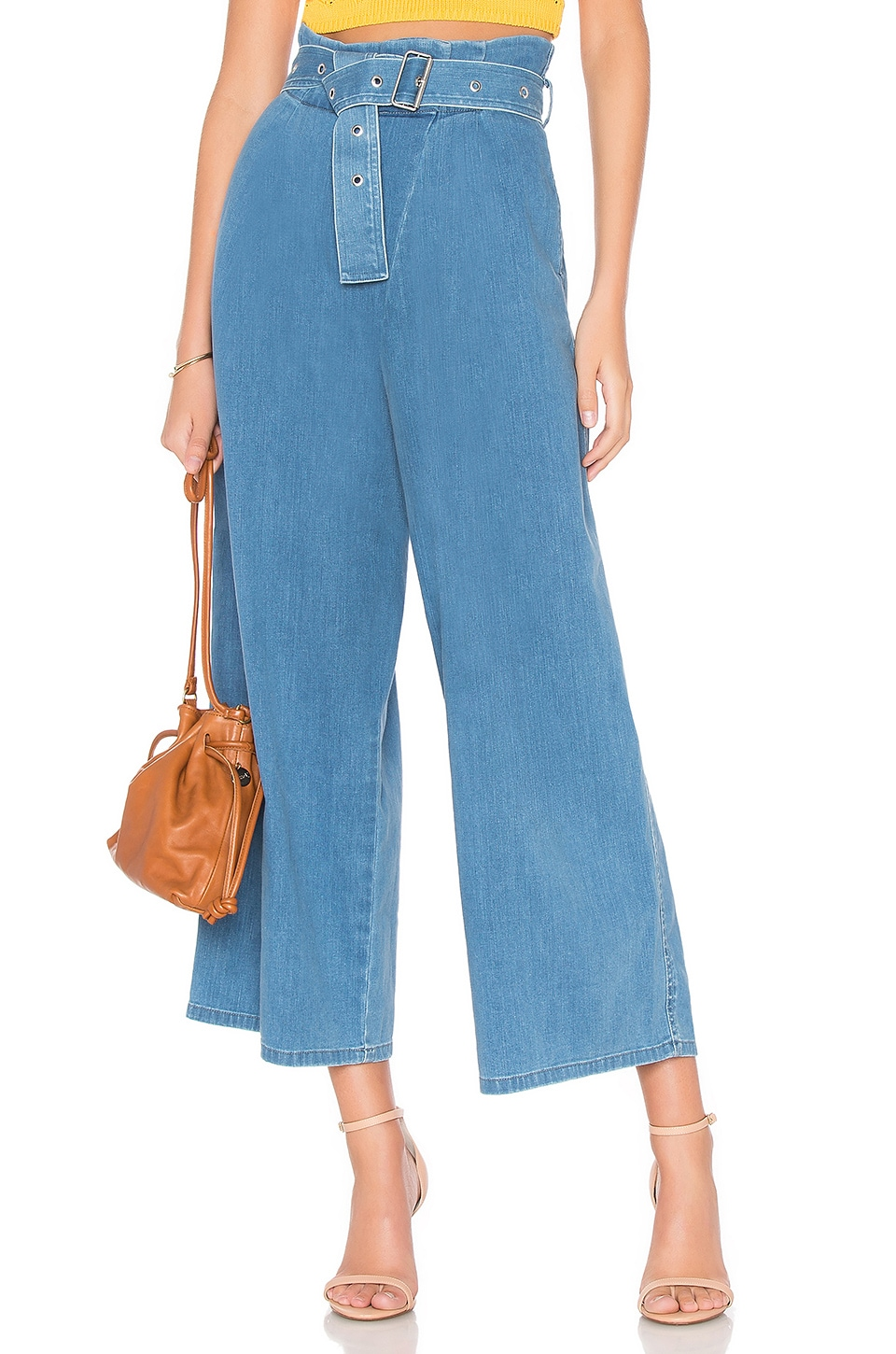 J Brand Via Pleat Front Pant in Heavenly