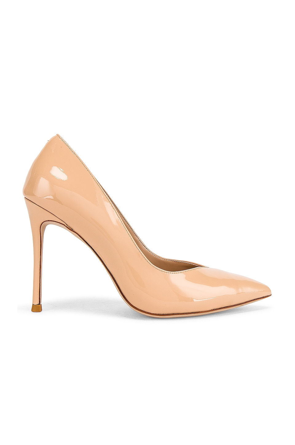 Jeffrey Campbell Lure Heel in Nude Patent