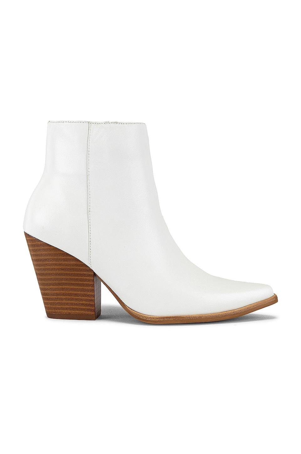 Jeffrey Campbell Elevated Bootie in White