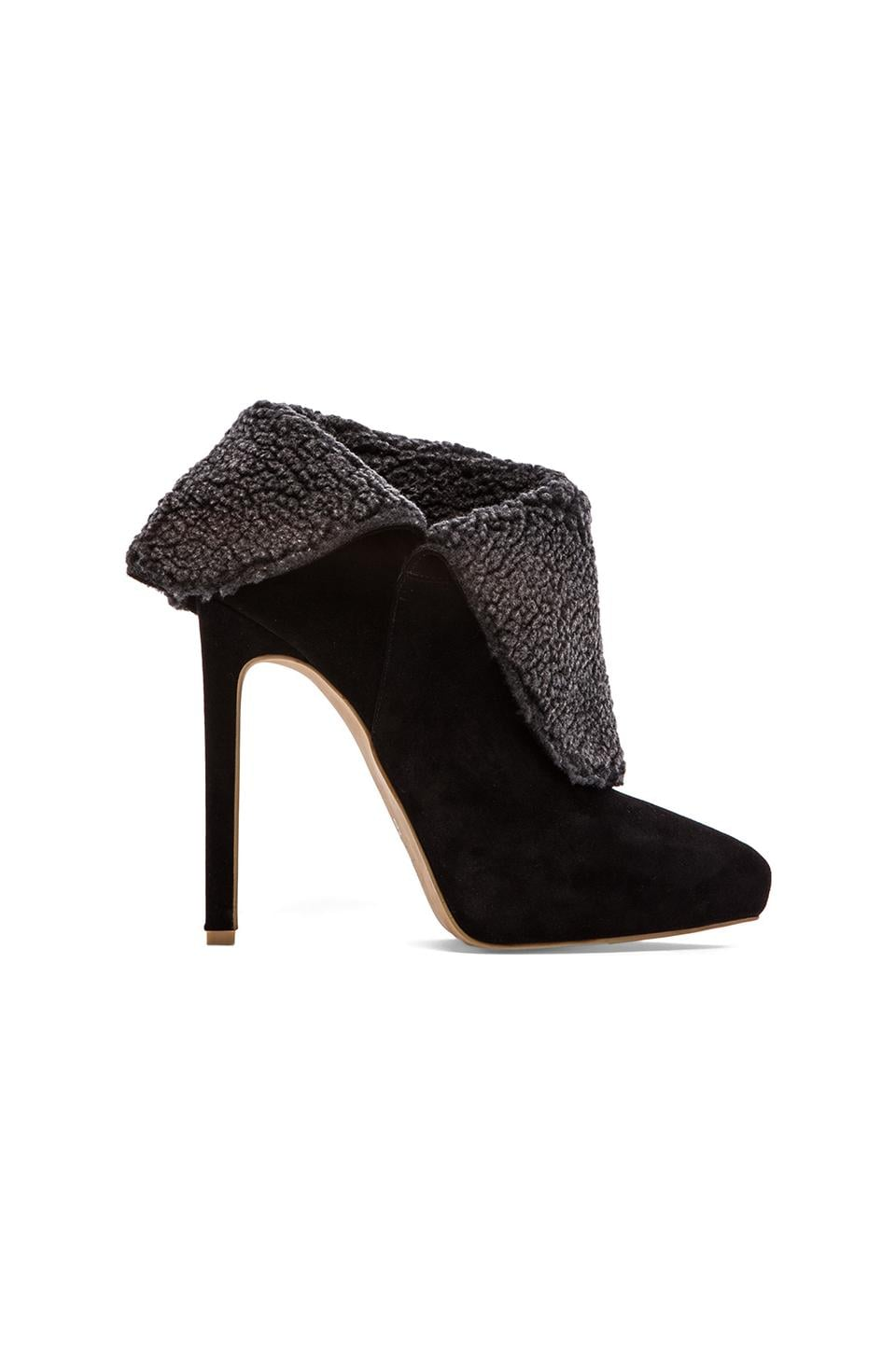 Jeffrey Campbell Zoe Wedge in Taupe Croc