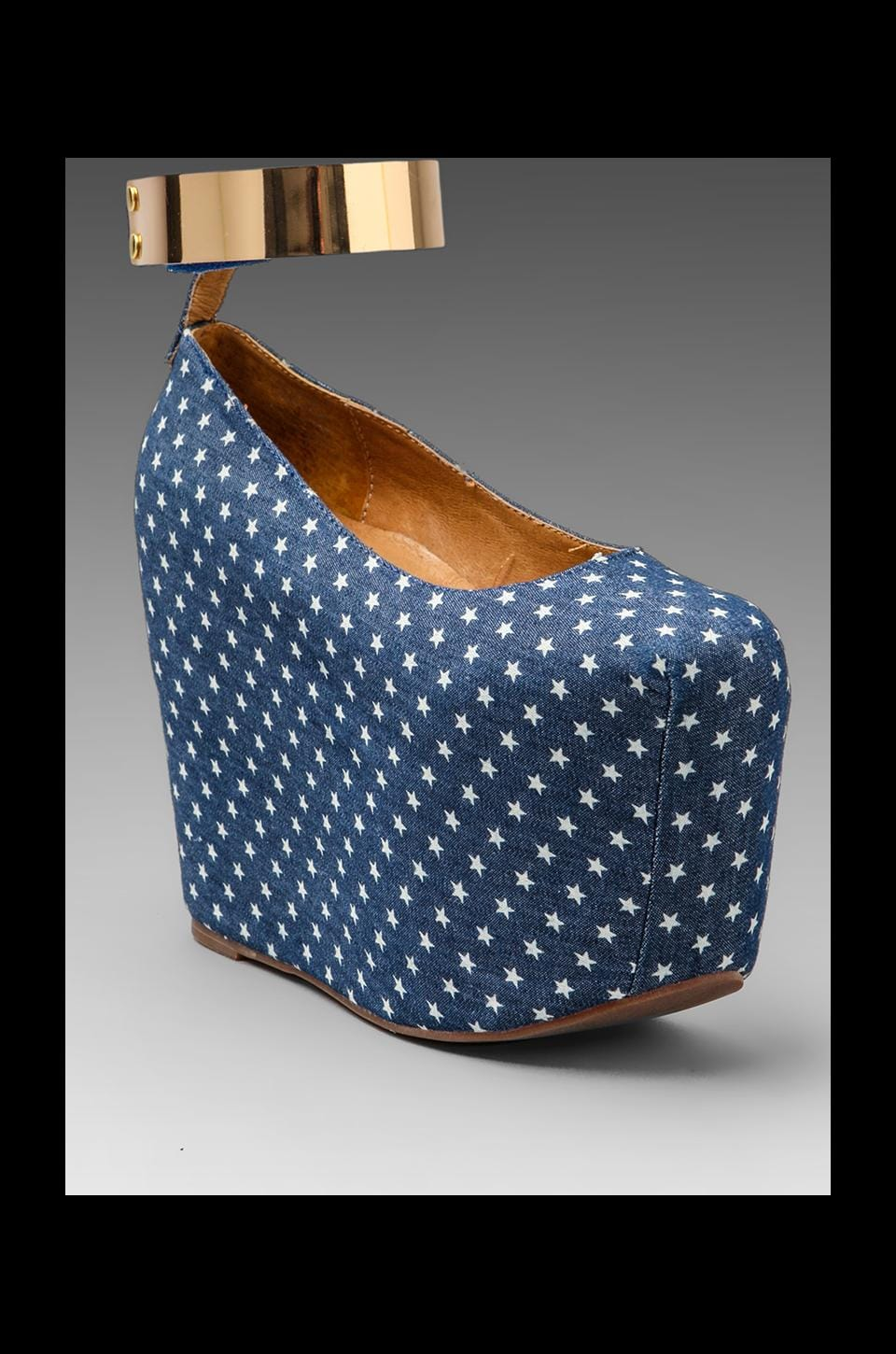 Jeffrey Campbell Pointe MC in Blue/White Star