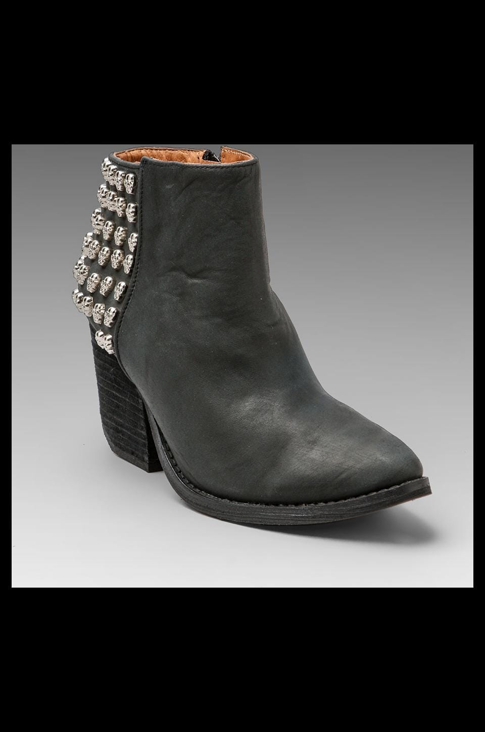 Jeffrey Campbell DOA in Black/Silver