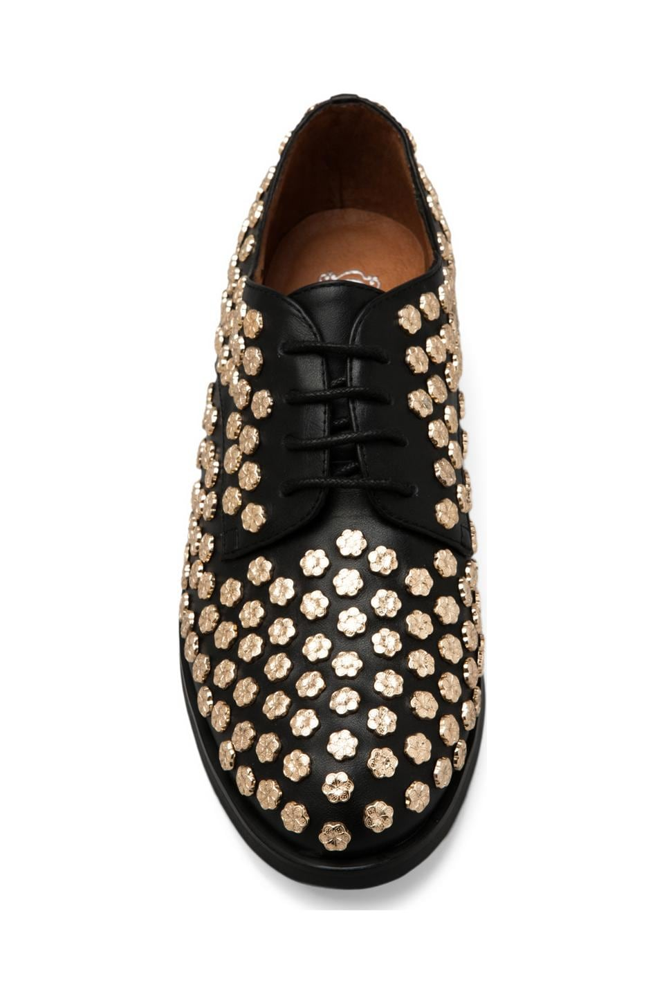 Jeffrey Campbell Daltrey-Flr in Black Gold