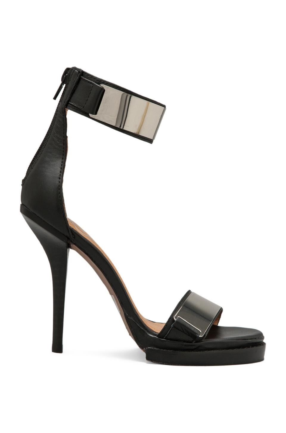 Jeffrey Campbell Tilda in Black Silver